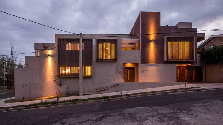 iluminacion de una casa
