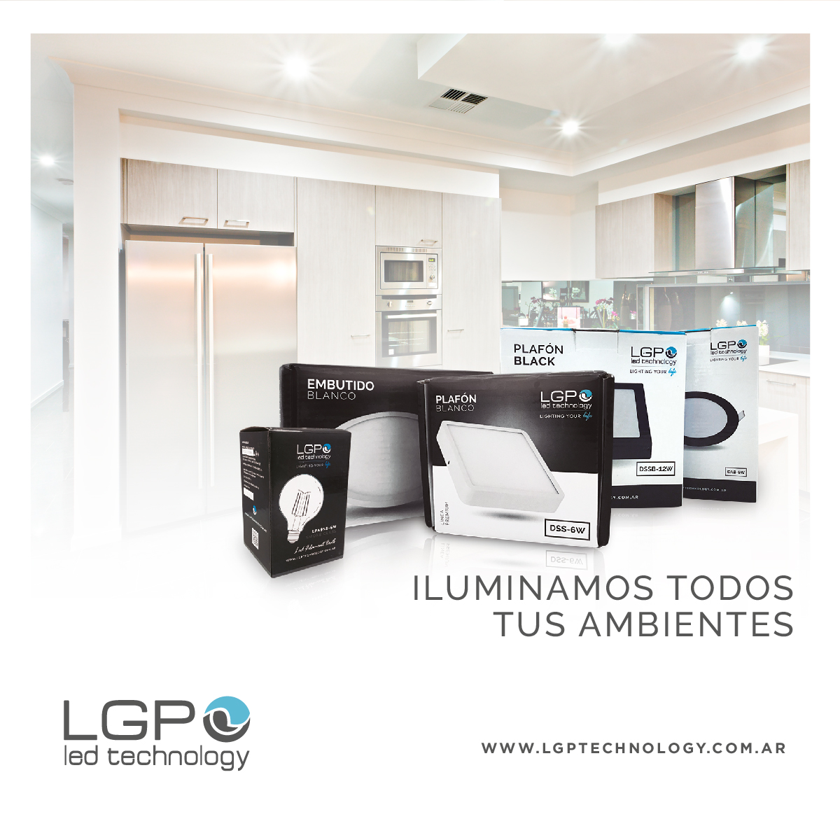 LGP. Led Technology, una empresa destacada por sus productos LED