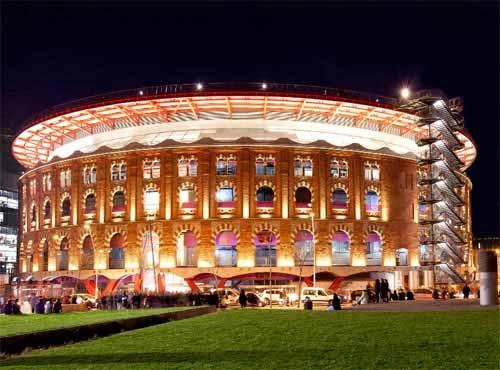 Iluminación de Las Arenas de Barcelona: simbiosis perfecta de historia y tecnología
