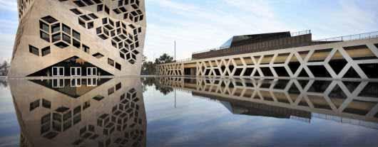 El diseño súper moderno del Centro Cívico del Bicentenario en Córdoba