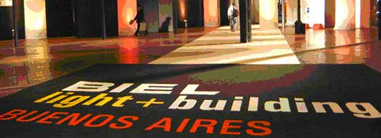 BIEL Light And Building 2013 en Buenos Aires