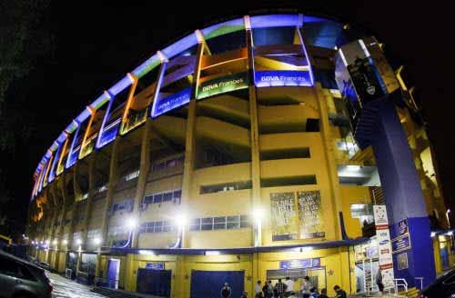 Nueva iluminación LED para la Bombonera