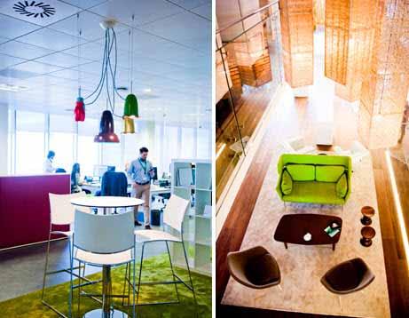 Iluminación, diseño y ecología para las oficinas más eficientes