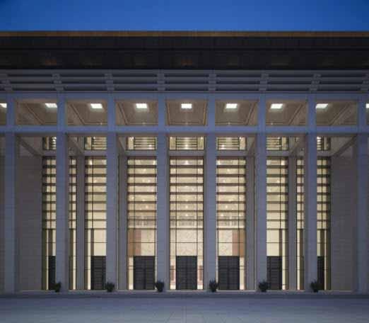 El innovador proyecto de iluminación del museo nacional de China
