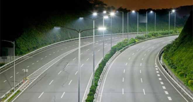 Iluminan autopistas en China con un millón de LEDs