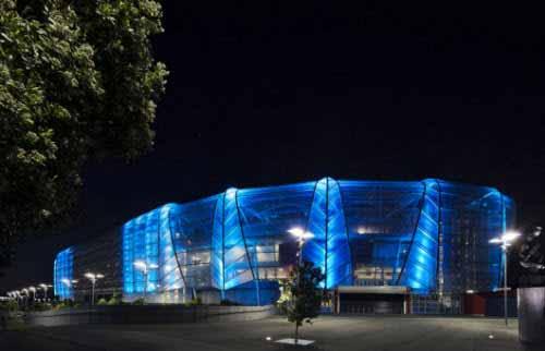 Eden Park tiene una nueva iluminación LED