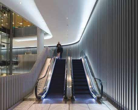 Vida, trabajo e iluminación en el centro financiero de Londres