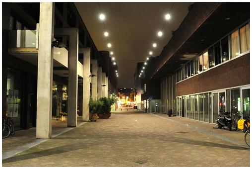 Los LED flotantes de Eindhoven