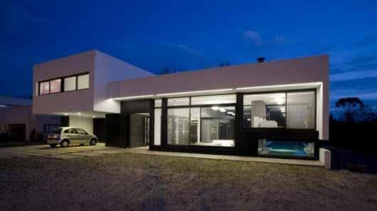Una casa en la que el exterior es el protagonista principal