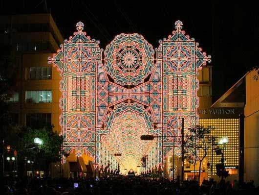 El festival de luces más famoso del Japón