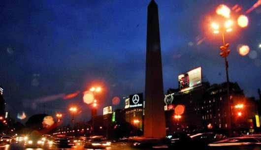 Buenos Aires se viste de LEDs