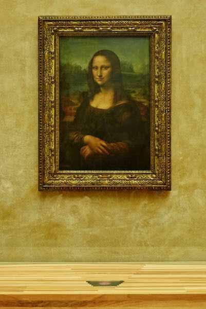 La Mona Lisa se ilumina en el Louvre con tecnología Led