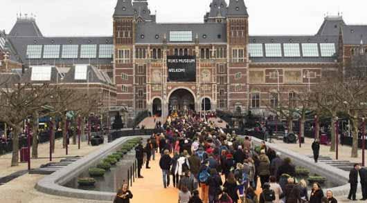 Nueva iluminación LED para el Museo Nacional de Ámsterdam