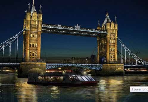 Tower Bridge/ Citelum: iluminación LED para los juegos olímpicos