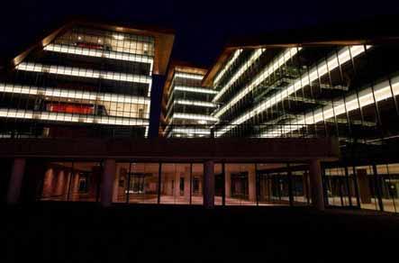 Iluminación de Terrazas del Portezuelo, complejo de Descentralización Administrativa