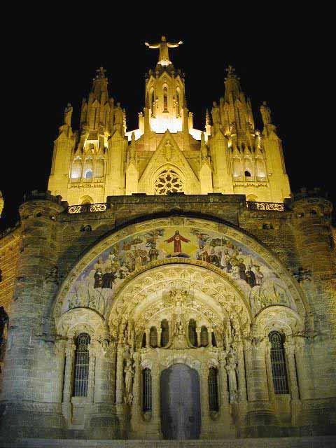 Iluminación LED para el Templo del Tibidabo