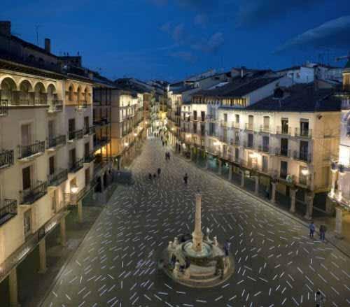 Completa renovación de la Plaza del Torico en España
