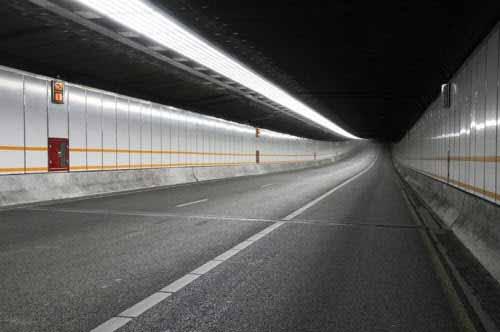 Iluminación LED para un túnel en Holanda