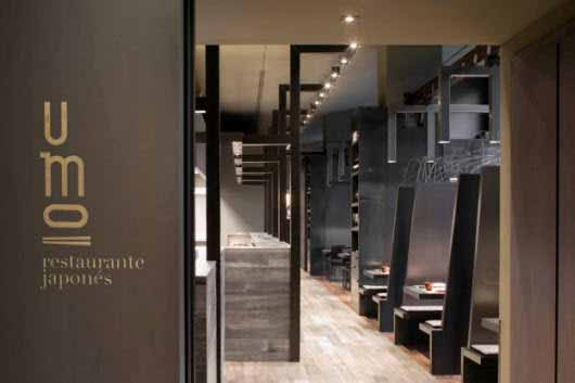 Un restaurante tradicional japon s se ilumina con lo ltimo en iluminaci n iluminaci n net - Restaurante umo barcelona ...
