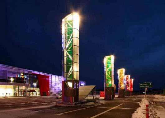 Arquitectura y funcionamiento sustentable para un shopping en Austria