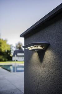 Lutec - Luz LED Solar con Detector de Movimiento - P9014