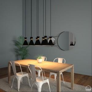 Lámpara Nikel | Galina C