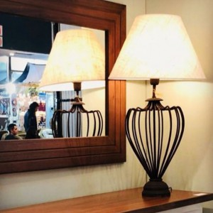 Lámpara Plena Luz | Lámpara de Mesa Jarrón Imperial - 232 - Lámpara De Mesa