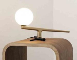 AcqualuceLucette - Lámpara de mesa