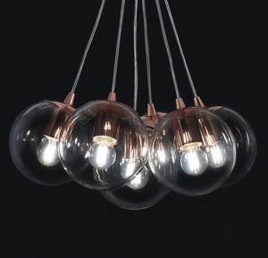 Ara IluminaciónRAM.WATER/6 - Cobre