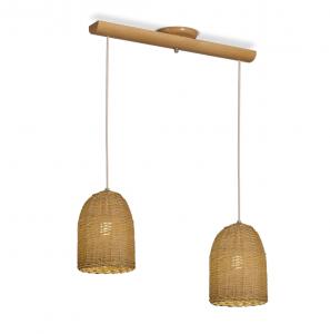 Lámpara Carilux | Campana - Cono 2 luces