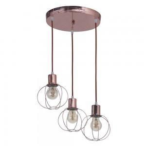 Lámpara Cival | Atomo - 3053 BR/3-cobre