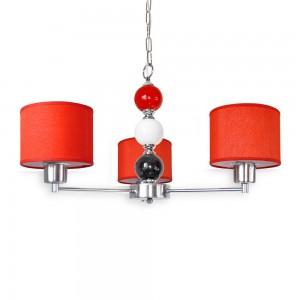 Lámpara Cival Iluminación | 1456/3 Rojo - Zero