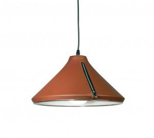 Lámpara Color Cálido | Cuero Campana - JU-1600-9 - Colgante