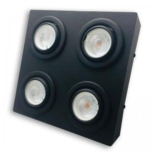 Lámpara Denfer | Plafón Dicro LED X4