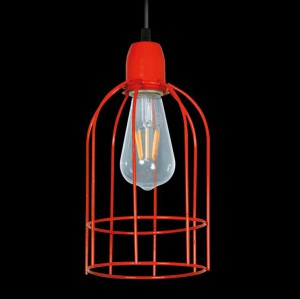 Lámpara Ferrolux | C-127 - Jaula Curvo