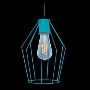 Lámpara Ferrolux | C-127 - Jaula Recto
