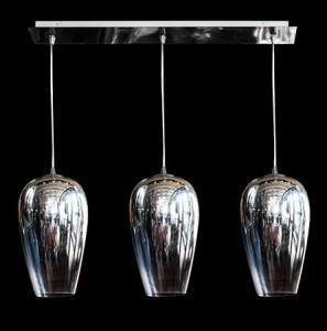 Lámpara Ilum Integral | 2850-3 - Copa Cromo