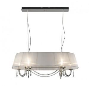 Lámpara Nikel | Musa Oval