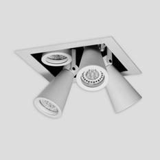 Punto IluminaciónTesta Box - EM TEBX DIC 4 C