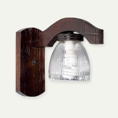 Carilux8208/1 - Quincho con tulipas de vidrio