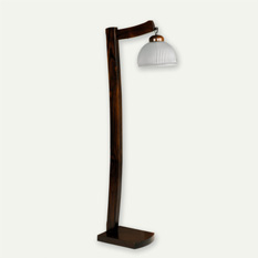 Lámpara Carilux | Ralle Negro y Platil - 5330