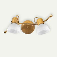 Lámpara Carilux | 84/2 - S Dorado y Platil