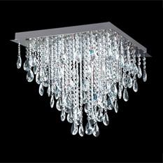 Lámpara Magnalum | 4005/8 - 4005/6 - 4005/4 - Almendras Transparentes