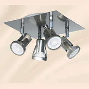 Lámpara JS Iluminación | P101-4 - Silver