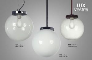 Lámpara Floreal | Lux Vestra - 1502 - 1504 - 1506 - 1501 - 1503 - 1505
