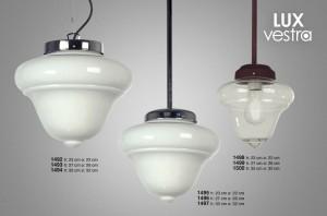 Lámpara Floreal | 1492 - 1494 - 1496 - 1498 - 1500 - Lux Vestra - 1493 - 1495 - 1497 - 1499
