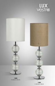 Lámpara Floreal | Lux Vestra - 1485 - 1483