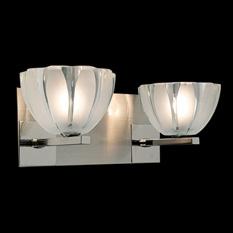 Lámpara Ilum Integral | 1040-2 - Praga Tallado Satinado