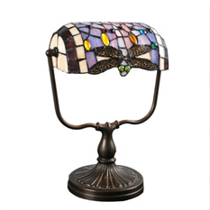 Lámpara Color Cálido | Libelula - Tiffany - 301