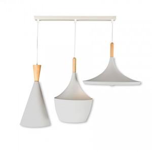 LeukBeat Linear Blanco - Colgante